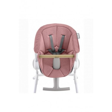Assise rose pour Chaise-haute Béaba up and down