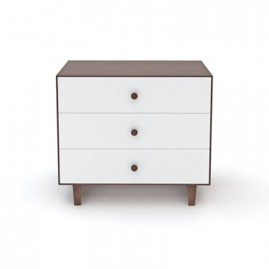 Commode Oeuf Merlin 3 tiroirs Noyer (Walnut)