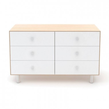 Commode Oeuf Merlin 6 tiroirs Naturel (Birch)