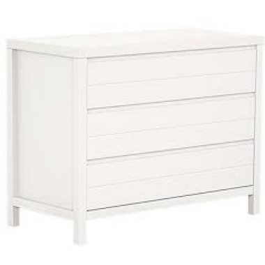 Commode bébé 3 tiroirs Quax Stripes White