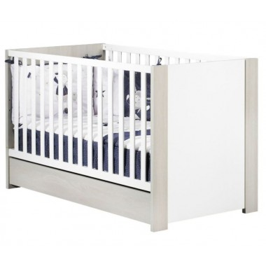 Lit bébé évolutif 140x70 cm Sauthon Little Big Bed Opale