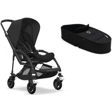 Nouvelle Bugaboo Bee 5 Style set All Black
