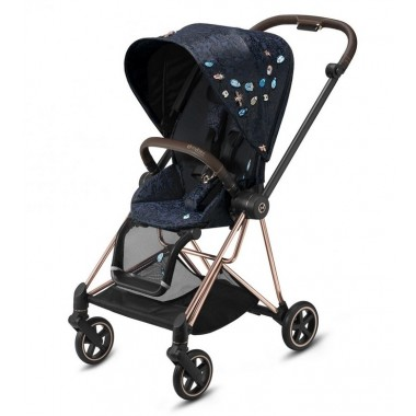 Nouvelle Poussette Mios Cybex Jewels of Nature, châssis Rosegold