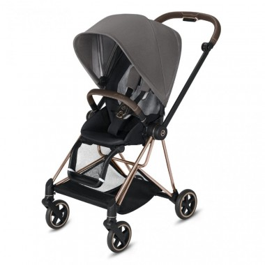 Poussette Cybex Mios 2019 Manhattan Grey Châssis Rosegold