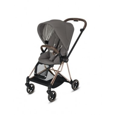 Poussette Cybex Mios 2020 Soho Grey Châssis Rosegold