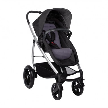 Poussette naissance Smart Lux Phil and Teds Taupe