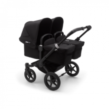 Nouvelle Poussette Double Bugaboo Donkey3 Twin All Black