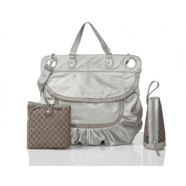 Sac à langer Magic Stroller Bag Glam Star Silver