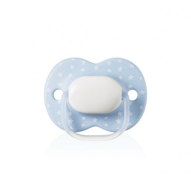 Sucette Little London Closer to Nature Tommee Tippee 0 à 6 mois garcon en silicone