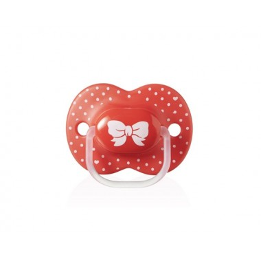 Sucette Little London Closer to Nature Tommee Tippee 6 à 18 mois fille en silicone