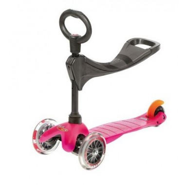 Trottinette Mini Micro 3 en 1 rose