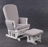 rocking chair quax classic blanc et gris natal market. Black Bedroom Furniture Sets. Home Design Ideas