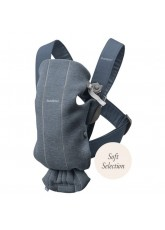 Porte-bébé Babybjorn Baby Carrier Mini dark grey 3D Jersey