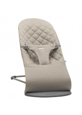Transat Balance Bliss Cotton Babybjorn Gris Sable