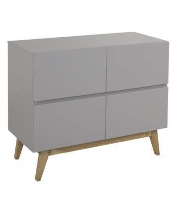 Commode bébé 4 tiroirs Quax Trendy Griffin Grey