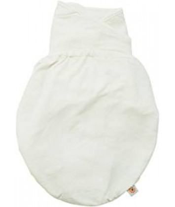 Couverture d'emmaillotage Ergobaby Baby Swaddler blanc