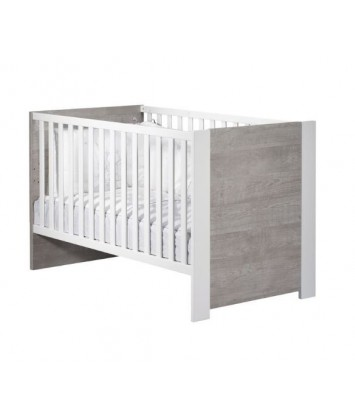 Lit bébé évolutif 140x70 Little Big Bed Sauthon Loft Bois