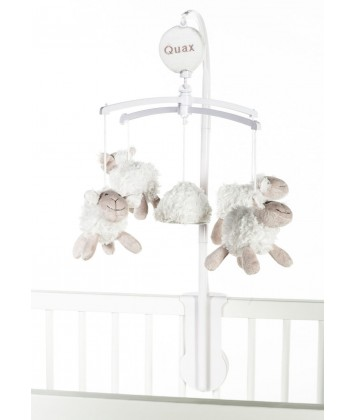 Mobile musical Quax Sheep blanc