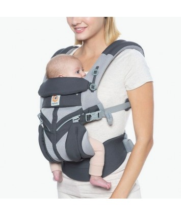 Porte bébé 360 Omni Cool Air M/esh Ergobaby Carbon Grey