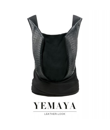 Porte-bébé Cybex Yemaya Leather-Look noir