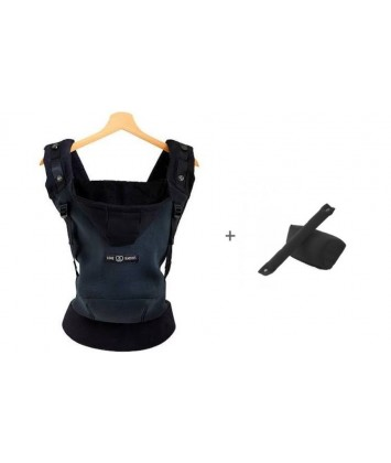 Porte-bébé JPMBB Hoodie Carrier Black Forest + Booster